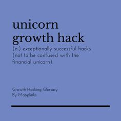 Exceptionally successful hacks (Not to be confused with the financial unicorn). Growth Hacking, Event Marketing, Confused, Unicorn, Success, Hacks, A Unicorn, Unicorns, Tips