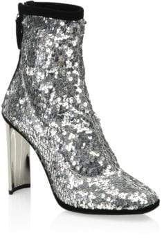 508e003556ce ShopStyle Collective. ShopStyle Collective Silver Ankle Boots ...