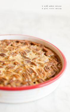 Fudgy Pecan Pie Bars www.agirlworthsaving.net #paleo #glutenfree #dessert
