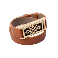 """New Long 16"""" Black/Brown Double Wrap Leather Band+Golden Holder For Fitbit Flex (Golden Metal+Brown Leather Band) HOLACA http://www.amazon.com/dp/B019QKT8TS/ref=cm_sw_r_pi_dp_JpmHwb1P50P0F"""