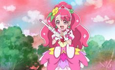 """""""Asahi website has updated with Healin' Good Ep 1 pictures! Pretty Cure, Pokemon, Glitter Force, Anime Characters, Fictional Characters, Meme Faces, Magical Girl, Twinkle Twinkle, Kawaii Anime"""
