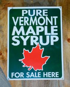 Pure Vermont Maple Syrup is the best! I'm a Dark Amber fan myself.