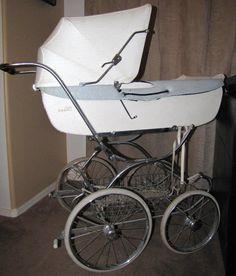Vintage Baby Buggy Bassinette Stroller by ZimmerArt on Etsy, $250.00