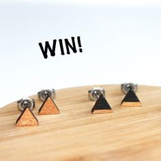Join @jolis_mots_ontwerp on Instagram and see hoe you can win a pair of these lovely ear studs!