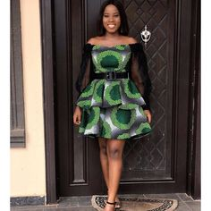 24 Magnificent African Dresses For Ladies - Unique Ankara Styles 2020 - Women's fashion interests Best African Dresses, Latest African Fashion Dresses, African Print Dresses, African Print Fashion, African Attire, Ankara Fashion, Latest Fashion Styles, African Wear For Ladies, Modern African Fashion