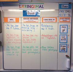 Skoleårets første læringsmål i 4 klasse. Vi starter blidt ud, så klassen lige kommer ind i rutinen igen med at bruge tavlen .-)