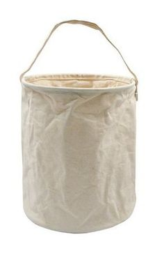 Canvas Water Bucket by Rothco; $8.99 - $19.96 from Amazon. They fold down when empty