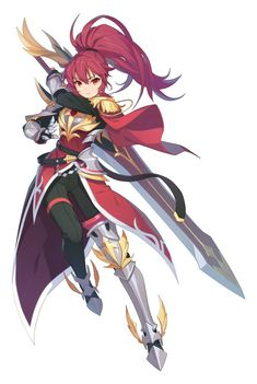 Watch anime online in English. Fantasy Character Design, Character Design Inspiration, Character Concept, Character Art, Fantasy Anime, Fantasy Girl, Anime Warrior, Warrior Girl, Fantasy Characters
