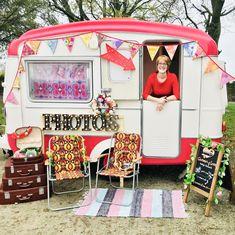 Caravan of Love vintage photobooth. Wedding Reception Decorations, Wedding Themes, Wedding Ideas, Wedding Hire, Our Wedding, Caravan Hire, Garden Photos, Unique Photo, Here Comes The Bride