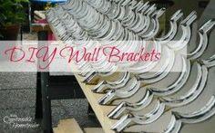 DIY Wall Brackets
