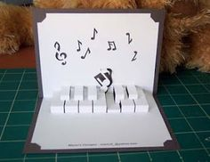 Cute card for music lovers!