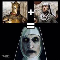 Who has already seen The nun? That explains everything! Game Of Thrones Meme, Watch Game Of Thrones, Game Of Thrones Books, Valar Dohaeris, Valar Morghulis, Khal Drogo, Wizards Vs Aliens, Game Of Thrones Wallpaper, Jon Snow