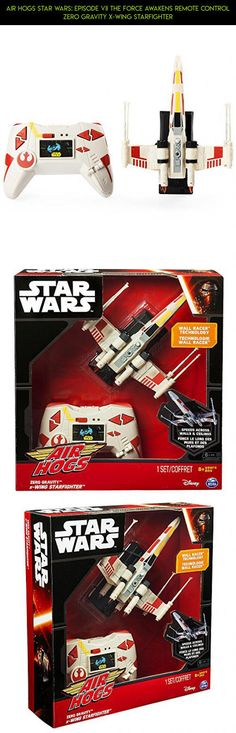 Air Hogs Star Wars: Episode VII The Force Awakens Remote Control Zero Gravity X-Wing Starfighter #kit #parts #racing #fpv #plans #gadgets #air #x #camera #shopping #technology #tech #wing #products #drone #hogs