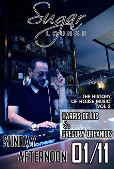 Sugar Lounge - Harris Dellis & Gregory Orfanidis 01-11-2015 | Verialife
