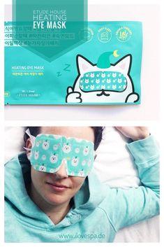 Etude House Heating Eye Mask - der Trend aus dem Bereich Koreanische Kosmetik - warme Augenmasken - Korean Beauty