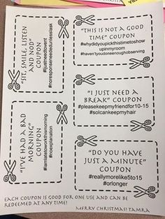 LOVE this idea for our teaching staff! Teacher Morale, Staff Morale, My Teacher, Teacher Gifts, Christmas Vouchers, Reward Coupons, Conscious Discipline, Staff Gifts, Work Gifts