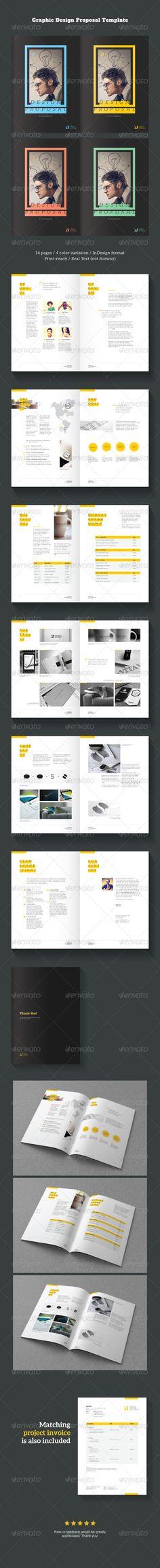 Elite Design ProposalMinimal and Professional Project Proposal - graphic design proposal template