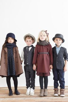 Kids old fashion clothing