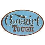 Open Road Brands Country Girl Fluted Die-Cut Tin Sign | Shop Hobby Lobby