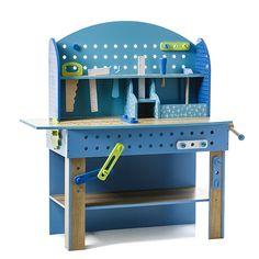 Blue Mini Work Bench