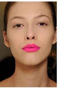 Spring Clean  Pink- Matte Lips- Velvet skin  Revlon Matte has a great variety of shades - reintruduced in 2009