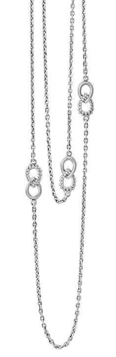 Soiree Long Sterling Silver Necklace | LAGOS.com
