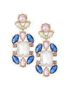 Kate Spade New York Sunrise Cluster Chandelier Earrings   Piperlime