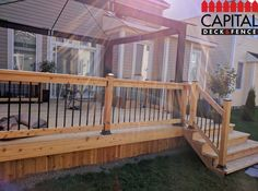 Get your custom made deck today now. FREE consultation available: http://www.capitaldeckandfence.ca/