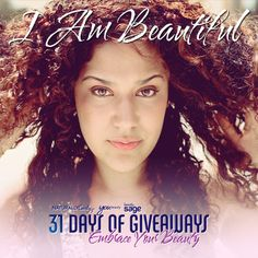 Enter to win Curly Hair prizes: Embrace Your Beauty http://www.naturallycurly.com/giveaways/winners/Embrace-Your-Beauty/