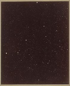 Paul Henry (French, 1848–1905) A Section of the Constellation Cygnus (August 13, 1885) Albumen silver print from glass negative