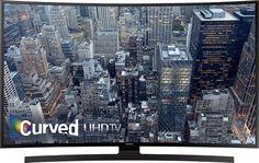 Buy Samsung  55 Class (54.6 Diag.)  LED  Curved  2160p  Smart  4K Ultra HD TV  Black