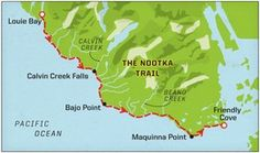 Hiking the Nootka Trail - Explore Magazine Bike Trails, Hiking Trails, Biking, Places To Travel, Places To Visit, West Coast Trail, Forest Trail, Life List, Family Adventure