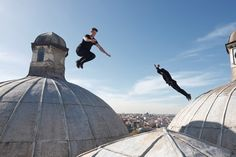 367b2c5b25e Canon Europe challenge elite Parkour athletes Storror to cross continents  by any means possible The clip