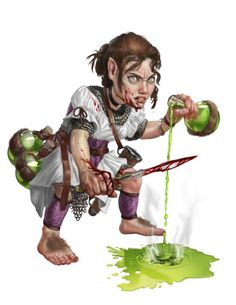 Image result for halfling character portrait