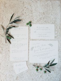 Olive Inspired Italian Real Wedding