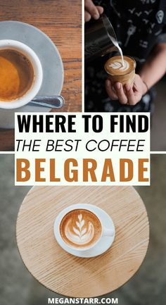 The Best Coffee in Belgrade (Awesome Best European City Breaks, Delicious Destinations, Coffee Around The World, Serbia Travel, Belgrade Serbia, Cool Cafe, Food Travel, Brunches, Cafes