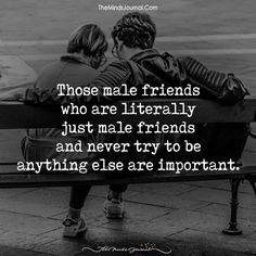 Those Male Friends - https://themindsjournal.com/those-male-friends/