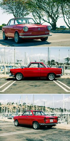 BMW 700: The car that saved the BMW Co from being taken over by rival Mercedes-Benz.