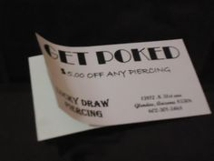Simple One Color Business Card Sticker with both sided printed which means that the peel off area is also printed for any kind of your promotions printed