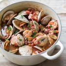 Dutch Oven Recipes - Italian Shellfish Stew - Easy Ideas for Cooking in Dutch Ovens - Soups, Stews, Chicken Dishes, One Pot Meals and Recipe Ideas to Slow Cook for Easy Weeknight Meals Fish Recipes, Seafood Recipes, Soup Recipes, Cooking Recipes, Healthy Recipes, Clam Recipes, Dutch Oven Recipes, Italian Recipes, Dutch Oven Cooking