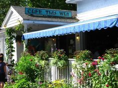 cafe this way...this is one of the best places i have ever been to eat.  Bar Harbor, ME