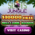 Slots Jungle USA online casino released their new bonus promotion for January 2014. Slots Jungle is celebrating the Chinese New Year by offering $10 free + 10 free spins. When you click here and use bonuscode EVERY15.