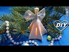 АНГЕЛ ДЛЯ НОВОГОДНЕЙ ЁЛКИ МК/ Christmas Angel DIY/Ángel de navidad/Anjo de natal/Angelo di Natale - YouTube Felt Christmas, Christmas Angels, Christmas Crafts, Christmas Ornaments, Diy Bow, Diy Ribbon, Diy Tiara, Diy Angels, Angel Ornaments