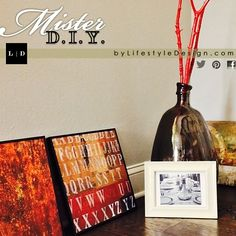 Rustic, Masculine Makeover • DIY Home Decor by #LifestyleDesign  http://byLifestyleDesign.com  #DIY #Apartment #Ideas