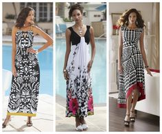 Black & White with unexpected pops of color.