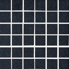 "Zone Black Mosaic 12"" x 12"""