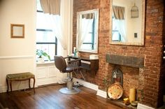 pictures of rustic salons | Vintage rustic salon
