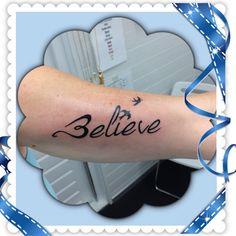 Binnenkant arm tattoo