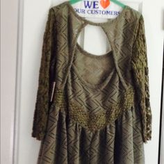 Free People Tops -  New Listing  Free People Lace Tunic