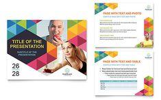 Health Fair PowerPoint Presentation Template Design